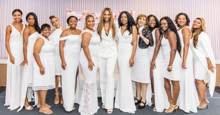 July is Fibroid Awareness-Month White Dress Projects